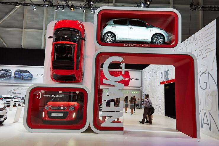 Citroen C1, Genfer Autosalon, Messe, 2014, Genfer Autosalon, Messe, 2014