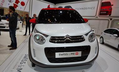 Citroen C1 Swiss&Me, Genfer Autosalon, Messe, 2014, Genfer Autosalon, Messe, 2014