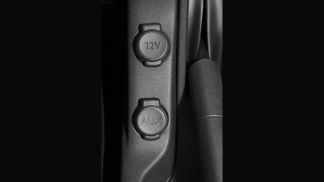 Citroen C3, AUX-Anschluss