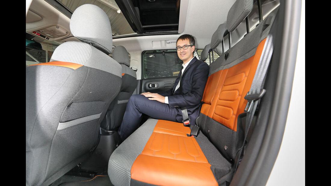 Citroen C3 Aircross Sitzprobe Paris