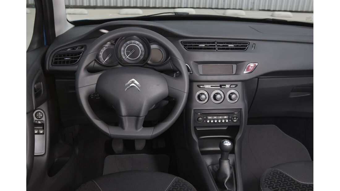 Citroen C3, Innenraum, Cockpit