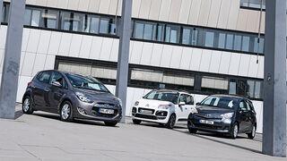 Citroen C3 Picasso Hdi 90, Hyundai ix20 Blue 1.4 CRDi, Toyota Verso-S 1.4 D-4D