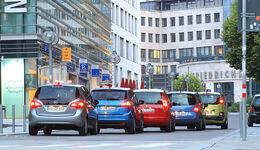 Citroen C3 Picasso, Kia Venga, Opel Meriva, Renault Grand Modus, Skoda Roomster