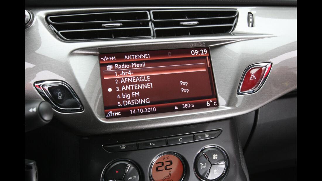Citroen C3 Vti 95 Display