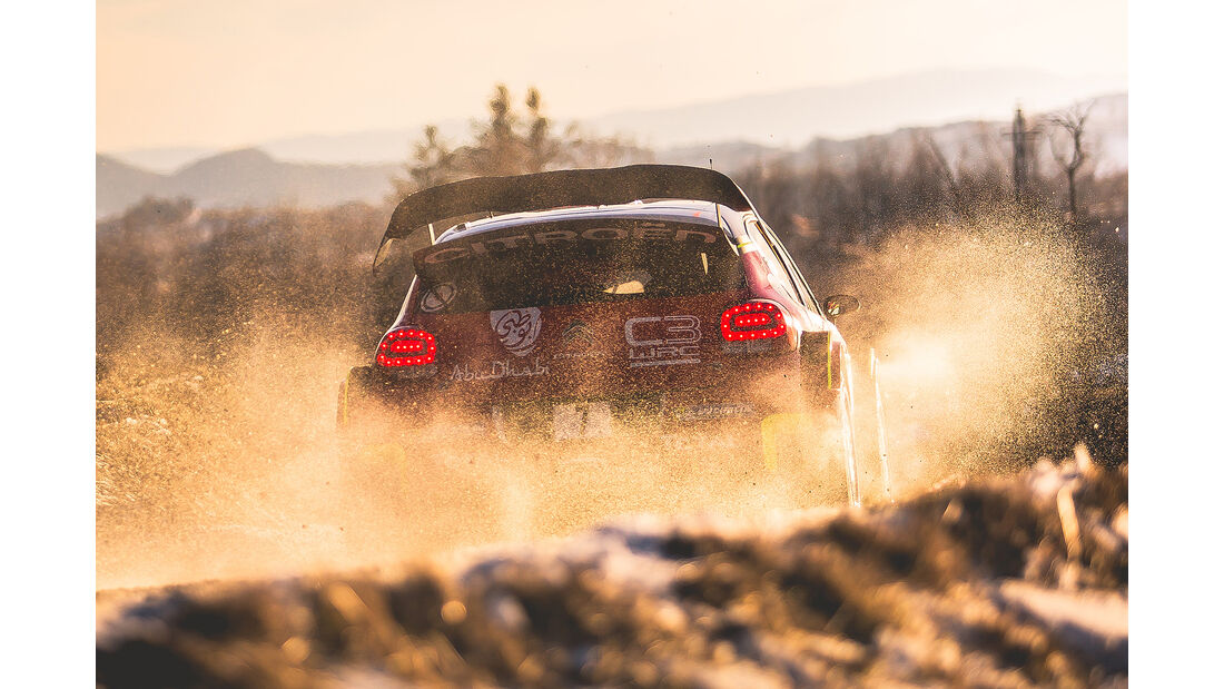 Citroen C3 WRC - Rallye Monte Carlo 2017