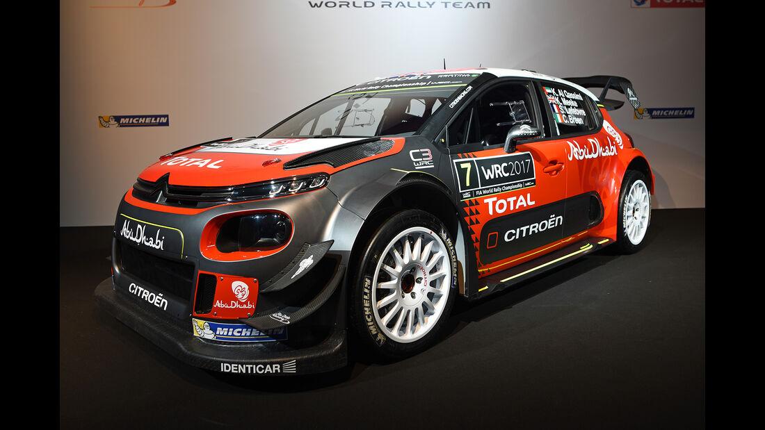 Citroen C3 WRC - Rallye-WM 2017