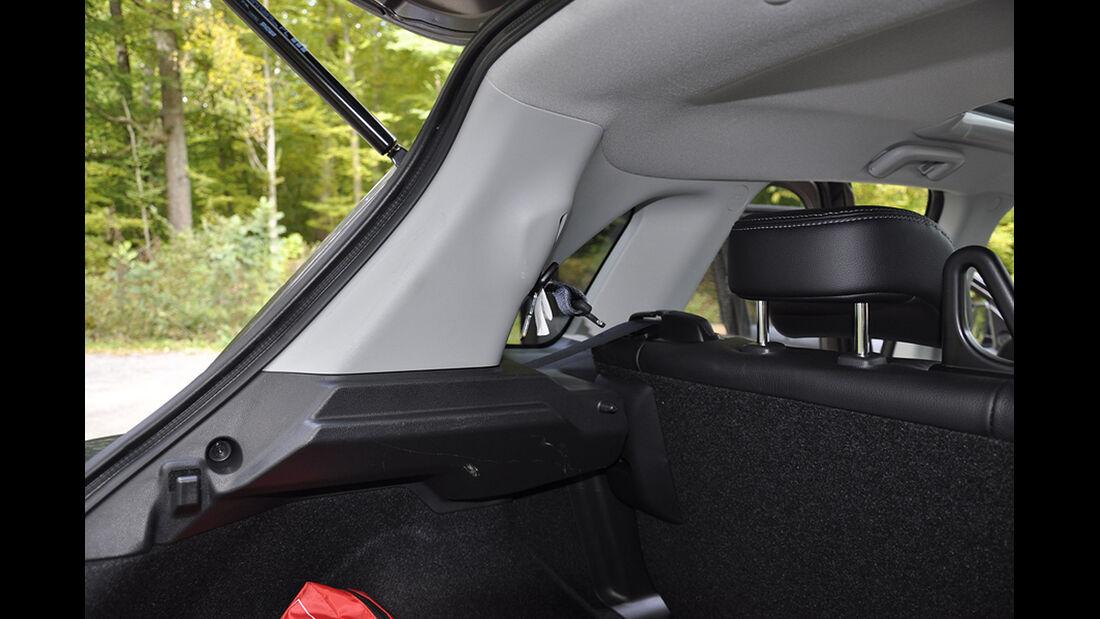 Citroen C4 Aircross, Innenraum-Check, Fond
