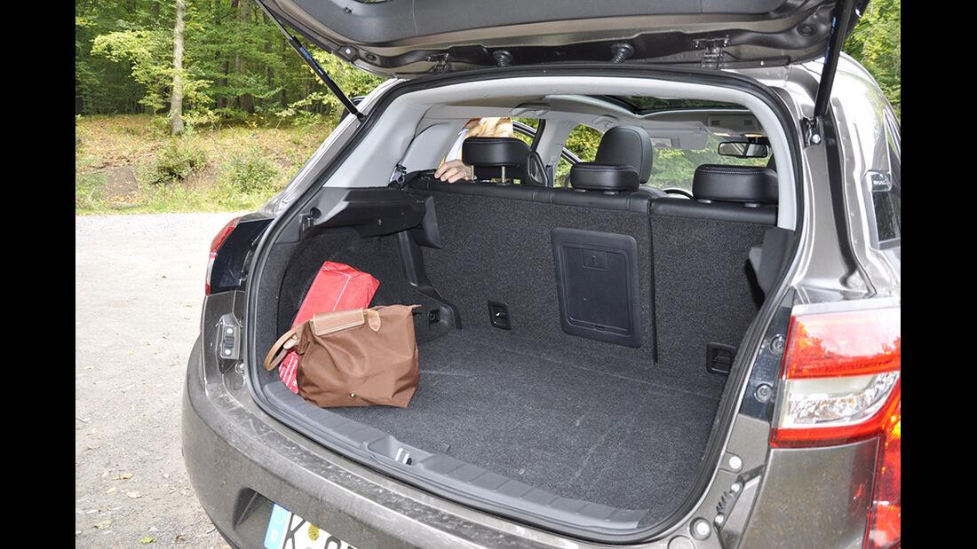 Citroen C4 Aircross, Innenraum-Check, Kofferraum