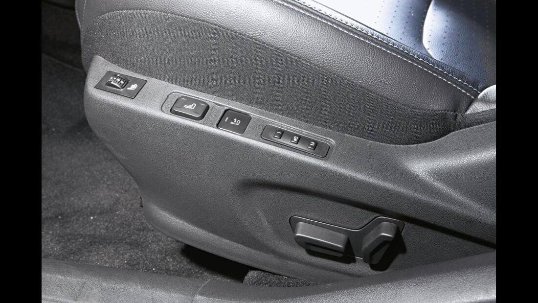 Citroen C4, Citroen DS4, Elektrische Verstellung, Sitz
