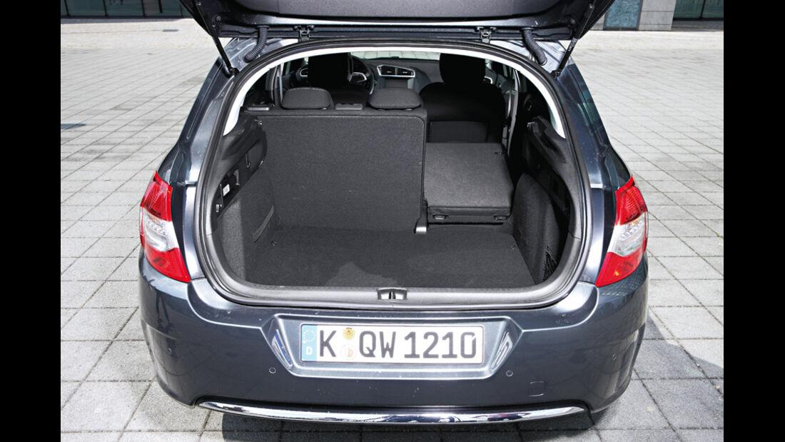 Citroen C4, Citroen DS4, Kofferraum