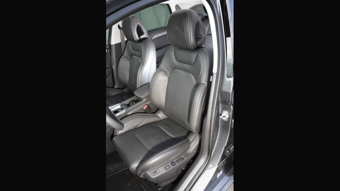 Citroen C4, Fahrersitz