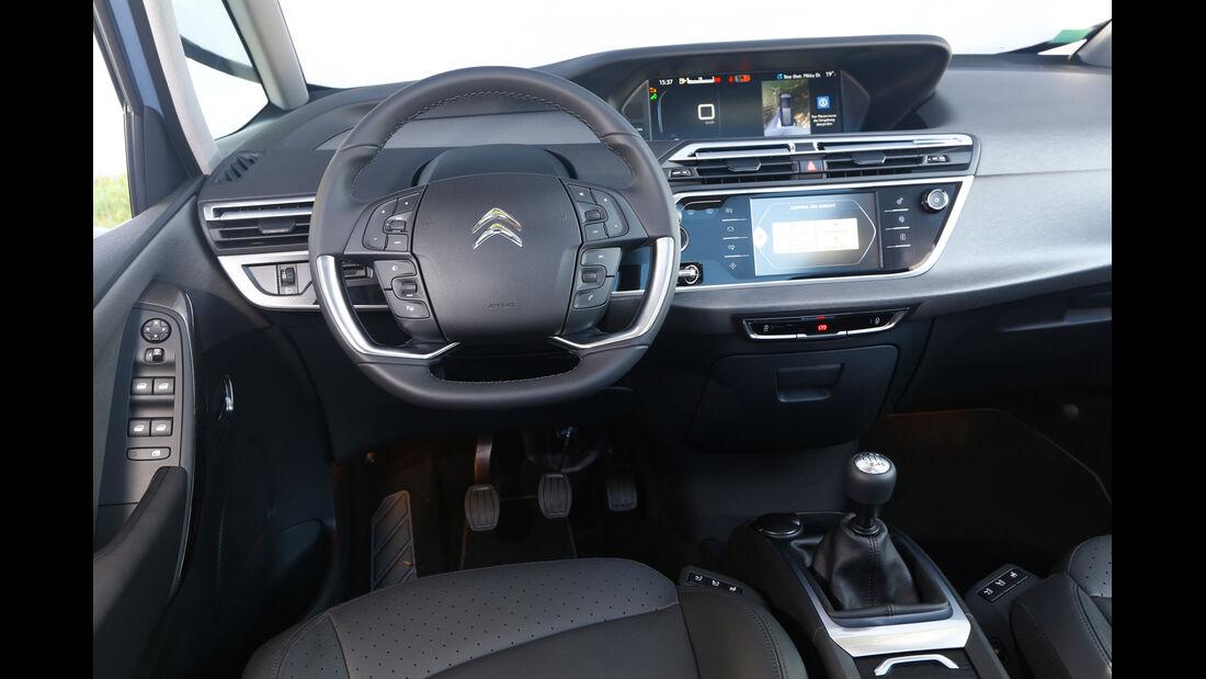 Citroen C4 Grand Picasso Blue Hdi 150, Cockpit