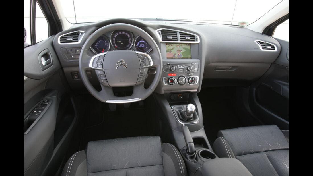 Citroen C4, Innenraum,Cockpit