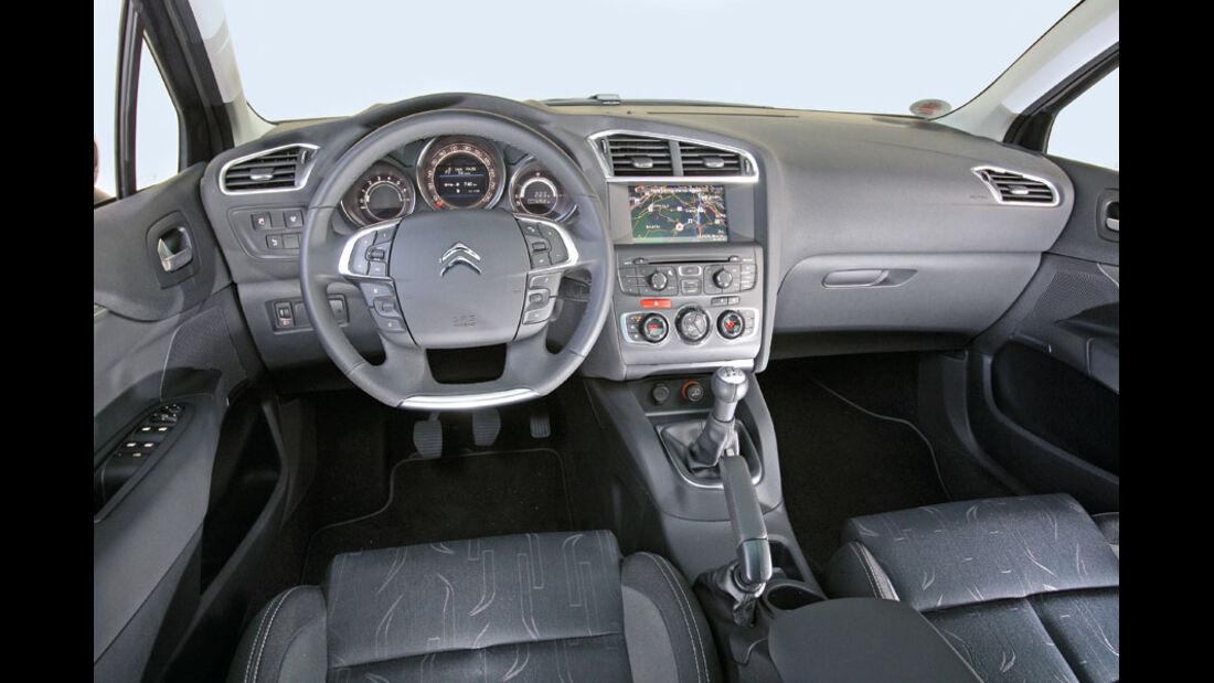 Citroen C4, Innenraum, Cockpit