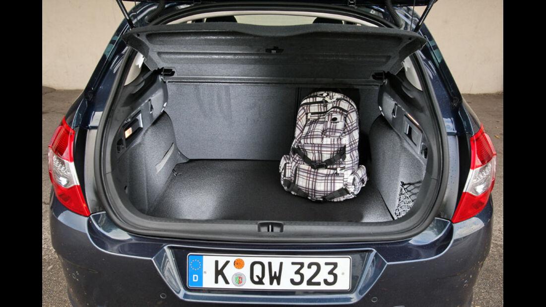 Citroen C4, Kofferraum