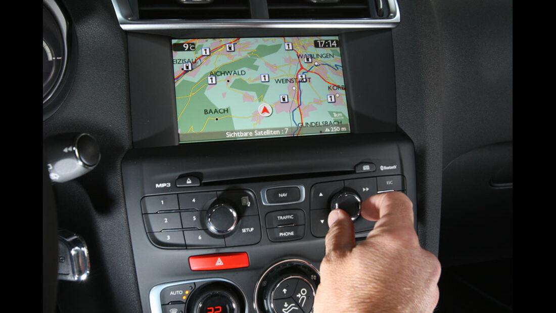 Citroen C4, Navigationssystem