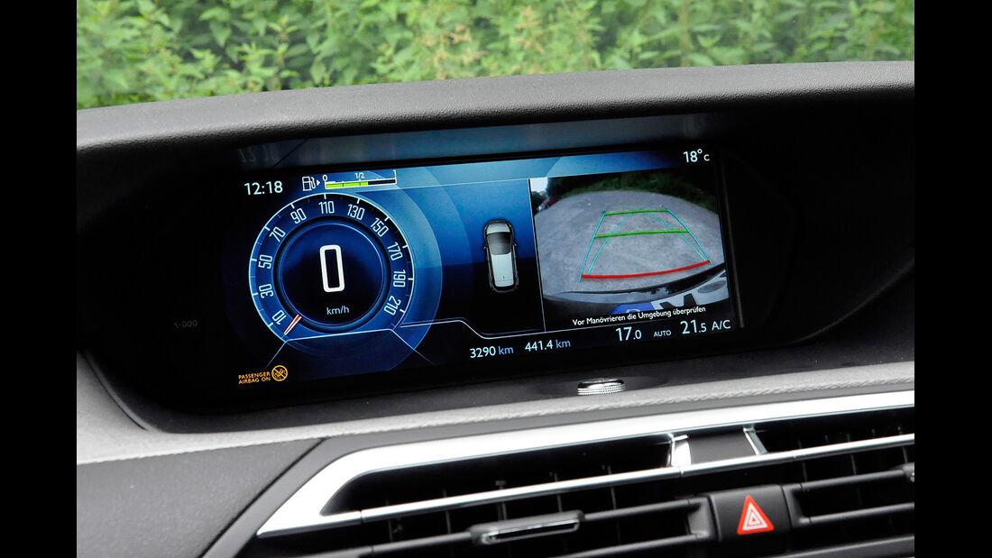 Citroen C4 Picasso, Cockpit, Infotainment