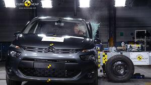 Citroen C4 Picasso  EuroNCAP-Crashtest