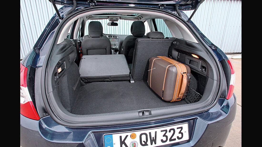 Citroen C4 Vti 120, Kofferraum