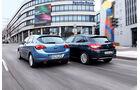 Citroen C4 Vti 120 und Opel Astra 1.4 Turbo im Vergleich