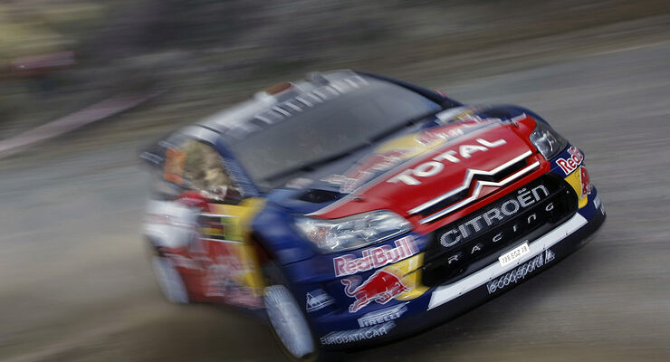 Citroen C4 WRC, Loeb, Zypern, 2009