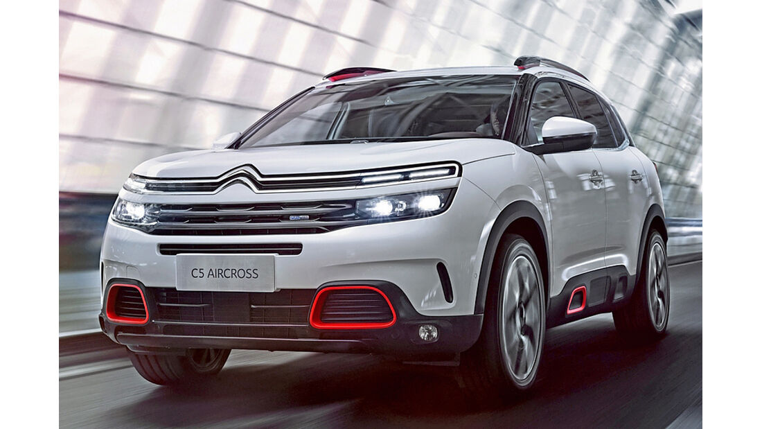 Citroen C5 Aircross, Best Cars 2020, Kategorie I Kompakte SUV/Geländewagen