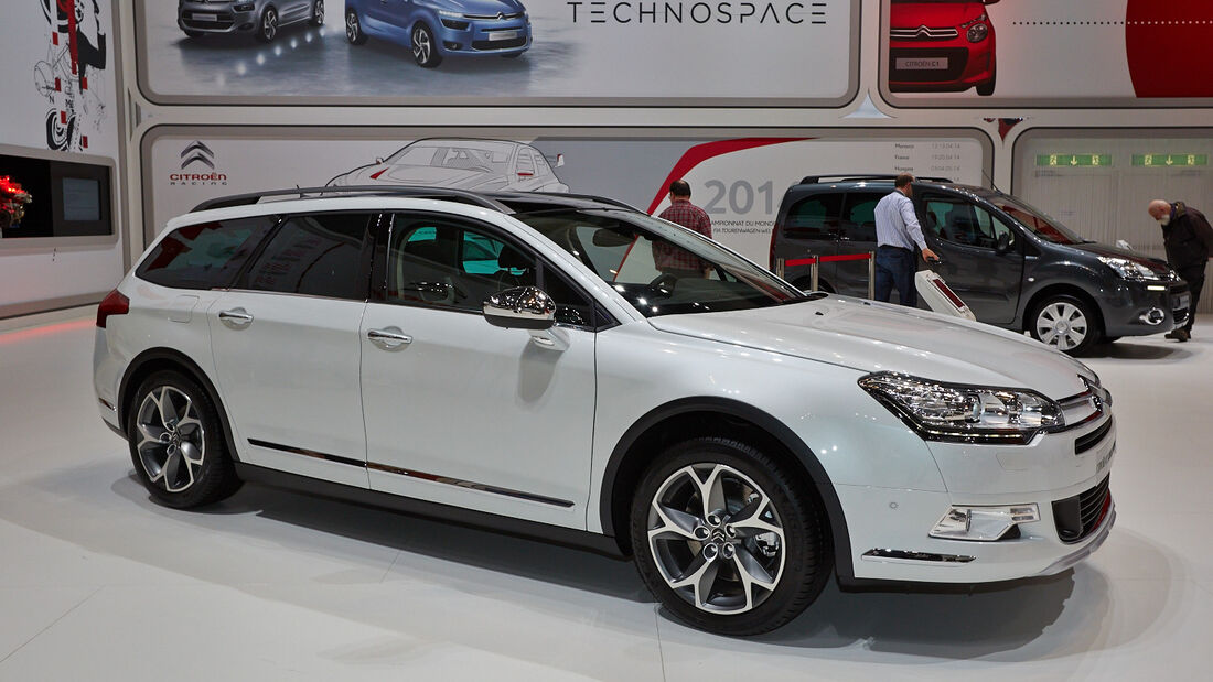 Citroen C5 Cross Tourer, Genfer Autosalon, Messe, 2014