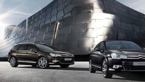 Citroen C5 Facelift 2012,