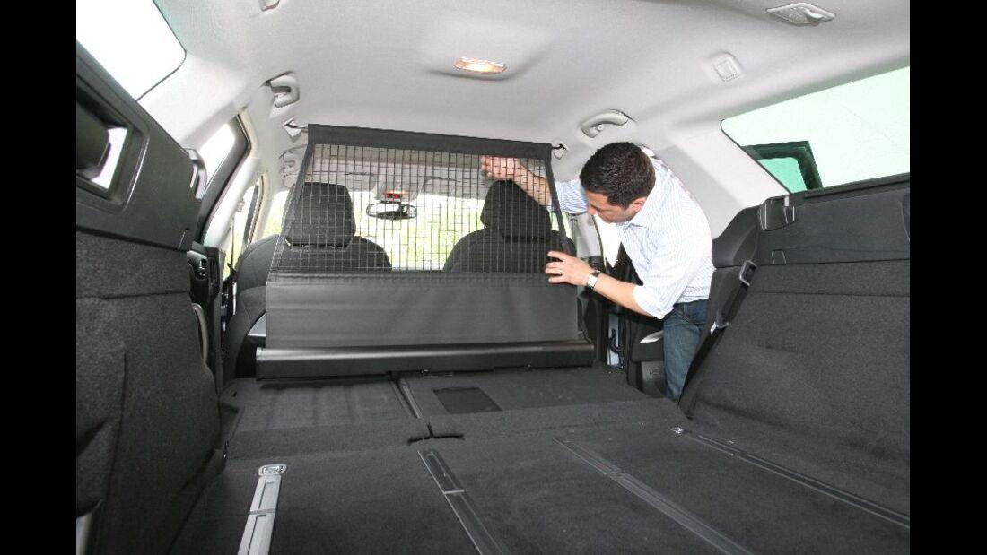 Citroen C5 Tourer Gepäcknetz