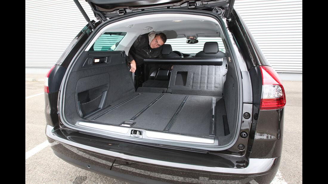 Citroen C5 Tourer HDI 165, Kofferraum, Ladefläche