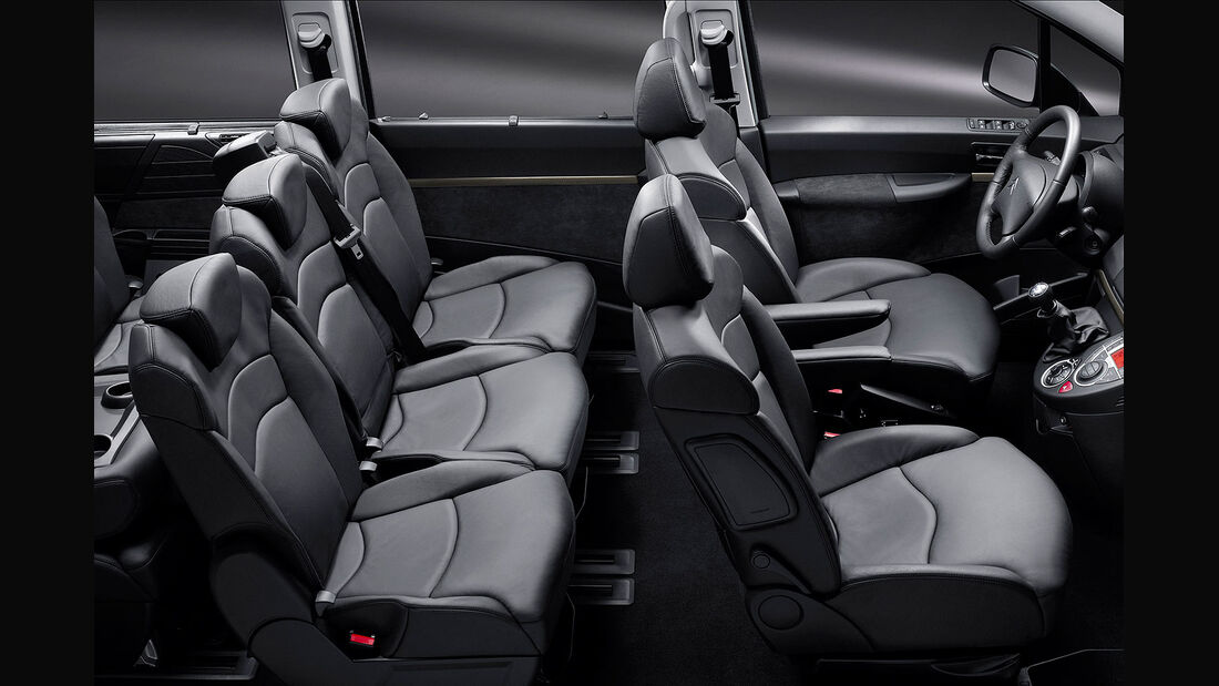 Citroen C8 Facelift 2012, Innenraum