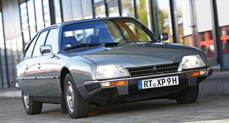 Citroen CX GTI, Frontansicht