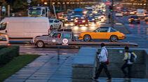 Citroen DS Tissier, Abschleppen, Stadtverkehr