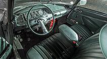 Citroen DS Tissier, Cockpit, Lenkrad