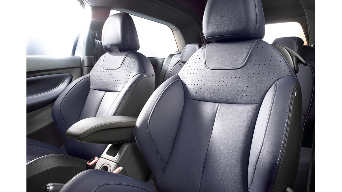 Citroen DS3 Cabrio, Innenraum