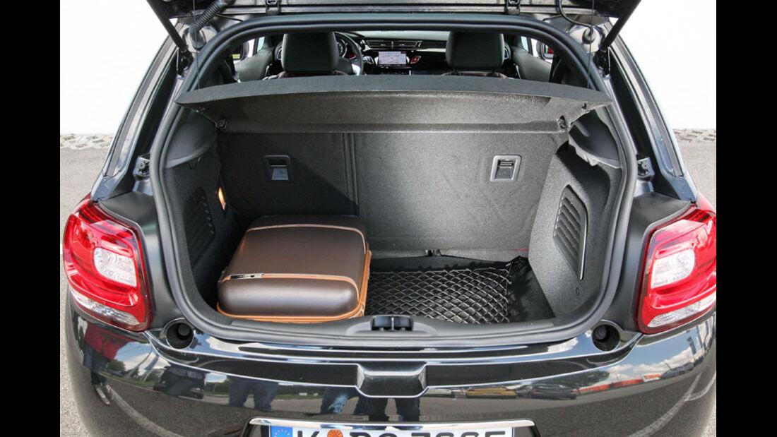 Citroen DS3 Hdi 110, Kofferraum