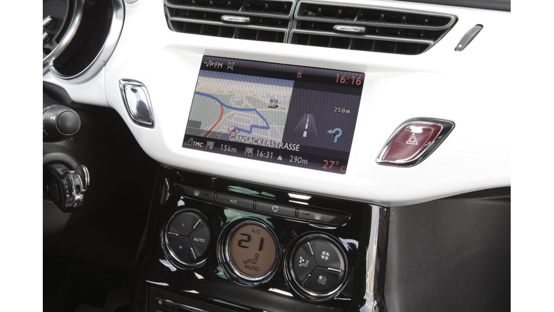 Citroen DS3, Navigationssystem