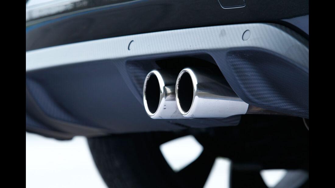Citroen DS3 Racing, Auspuff, Detail