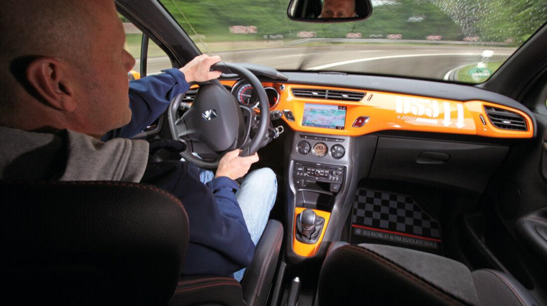 Citroen DS3 Racing, Cockpit, Jens Dralle