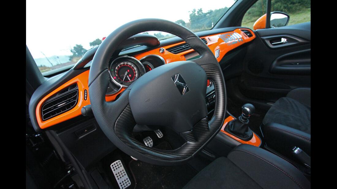Citroen DS3 Racing, Cockpit, Lenkrad