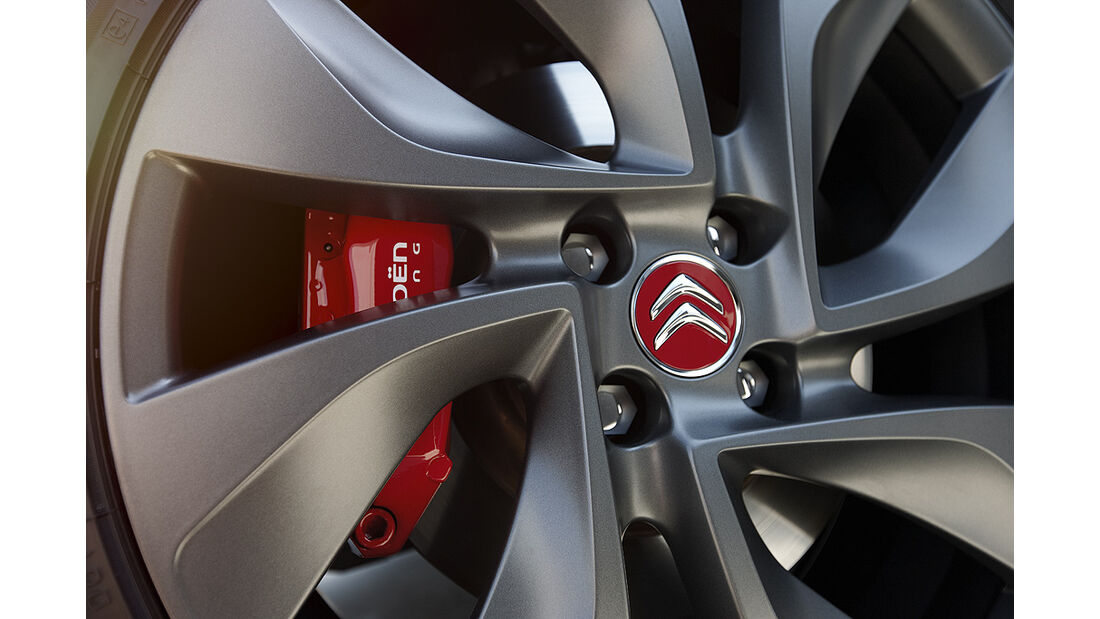 Citroen DS3 Racing, Felge, Bremse
