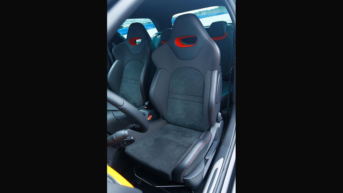 Citroen DS3 Racing, Innenraum, Sitz, Detail