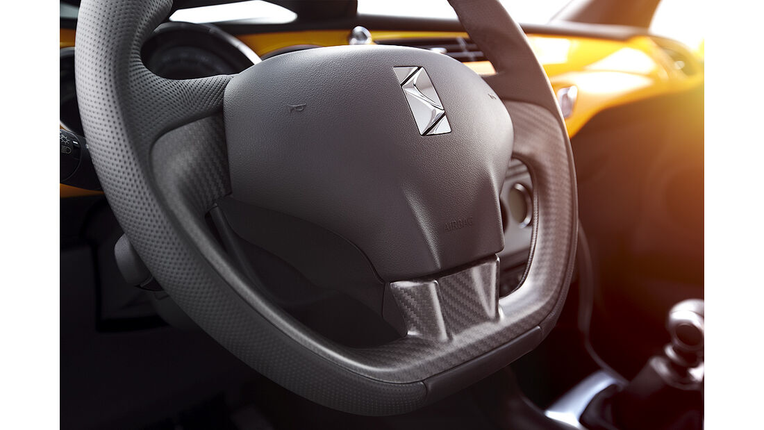 Citroen DS3 Racing, Lenkrad