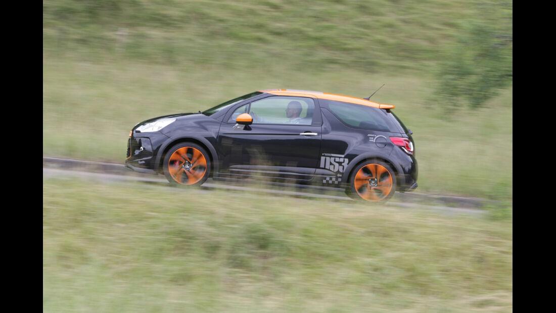 Citroen DS3 Racing, Seitenansicht
