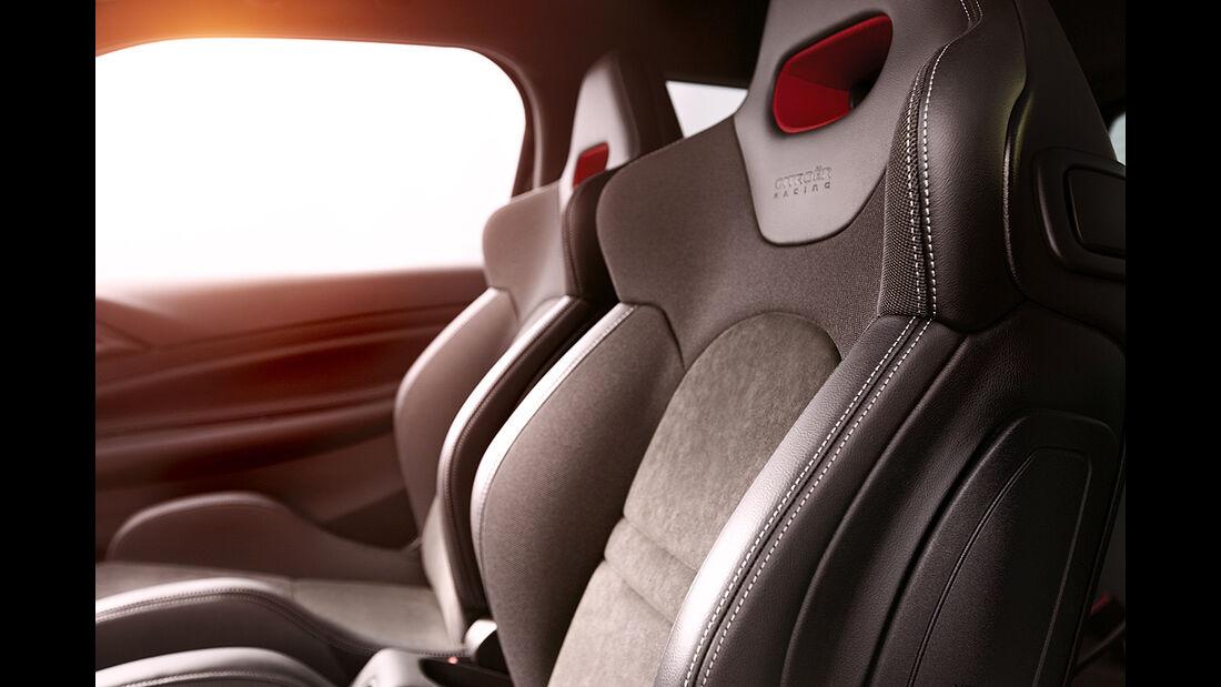 Citroen DS3 Racing, Sitze