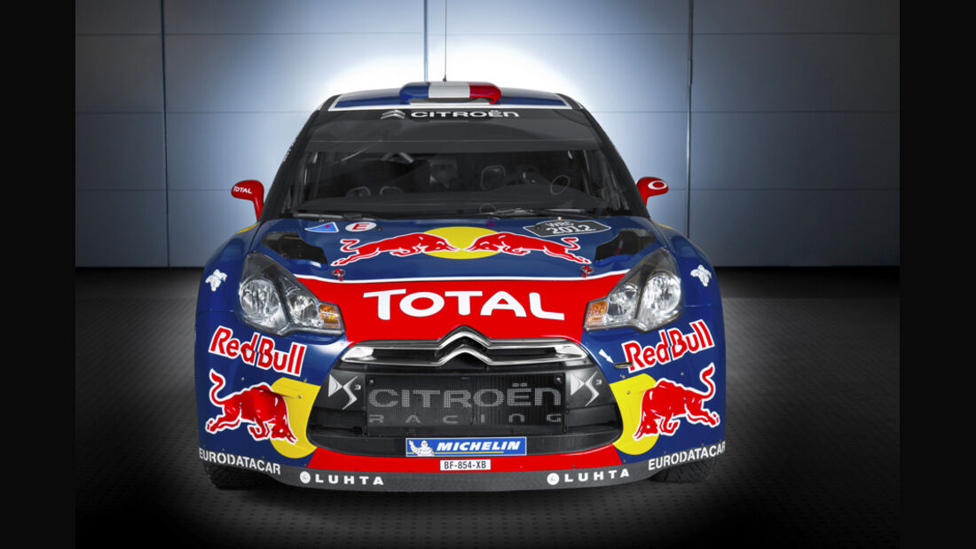 Citroen DS3 WRC 2012