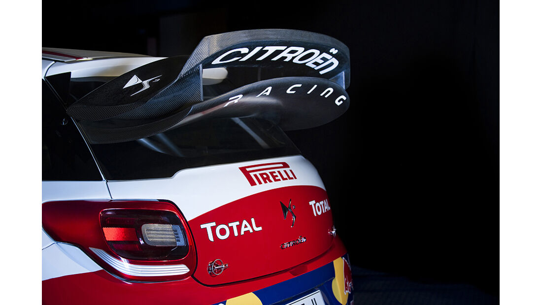 Citroen DS3 WRC Heckspoiler
