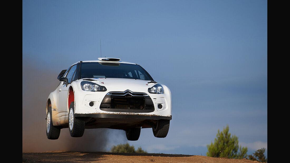 Citroen DS3 WRC Sprung