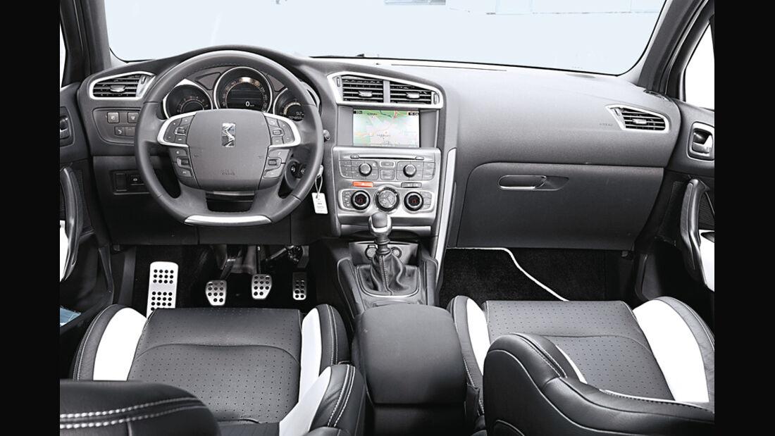 Citroen DS4, Cockpit