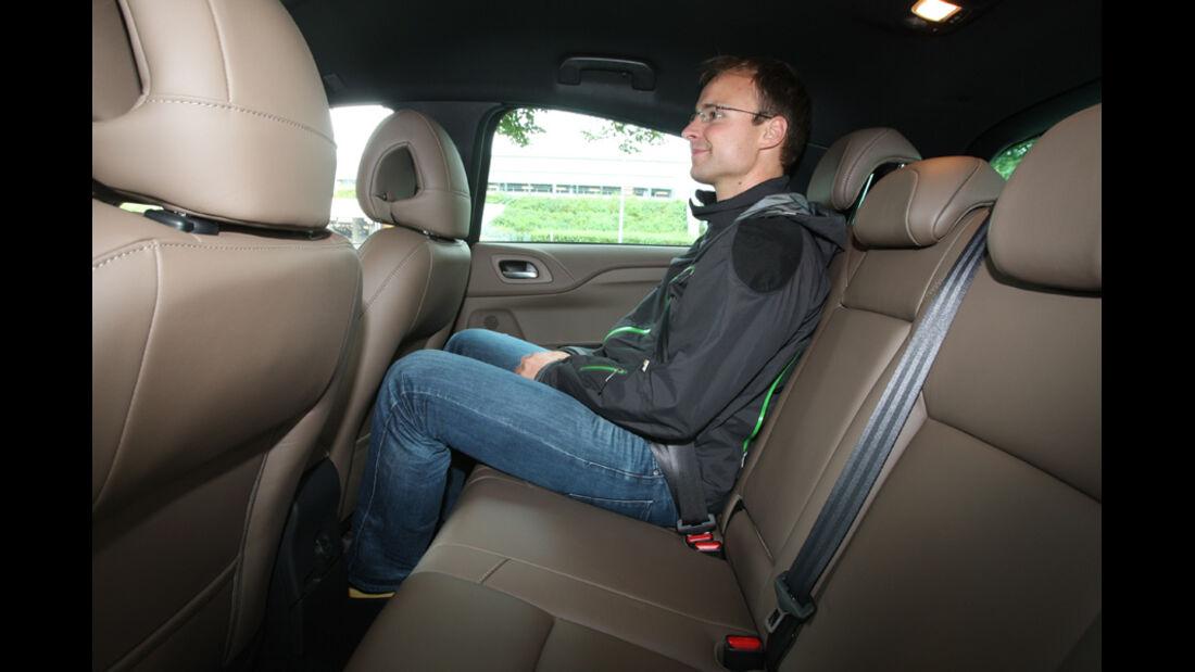 Citroen DS4 HDi 165 Sport Chic, Rückbank, Rücksitze